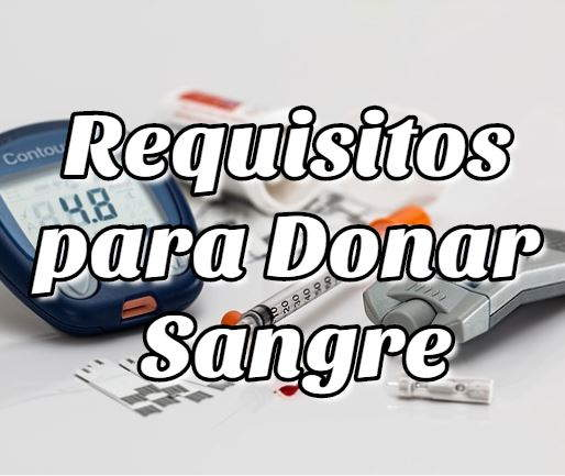 Requisitos para Donar Sangre en Bolivia