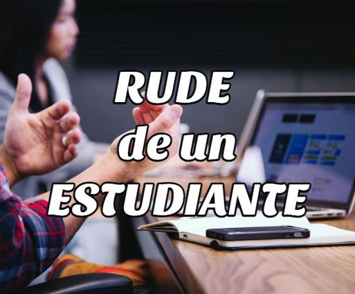 conocer rude estudiante