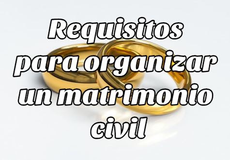 Tramites y Requisitos para organizar un matrimonio civil en Bolivia