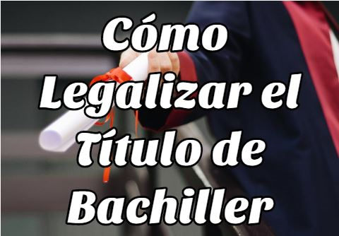 Legalizar tu Título de Bachiller en Bolivia