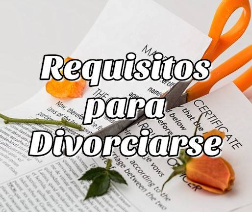Requisitos para Divorciarse en Bolivia