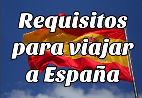 Requisitos para Viajar a España desde Bolivia