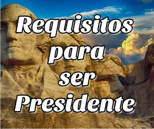 Requisitos para ser Presidente de Bolivia