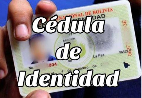 requisitos para sacar Cédula de Identidad en Bolivia