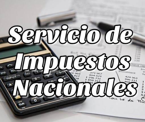 tramites y documentos del Servicio de Impuestos Nacionales